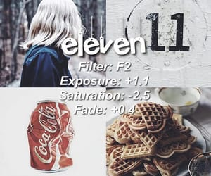 effect, eleven, and stranger things image