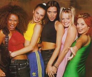 90s and spice girls image