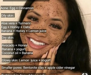 skin care, diy, and face mask image