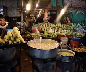 corn, Mexico City, and elotes image