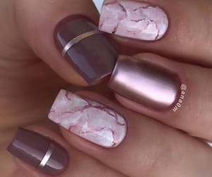 chromatic, manicure, and nails image