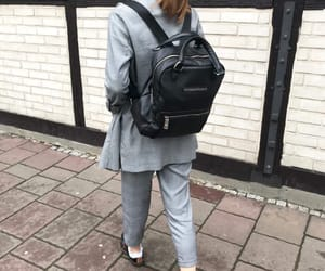 backpack, classy, and fashion image