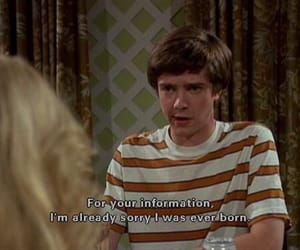 mood, quote, and eric forman image