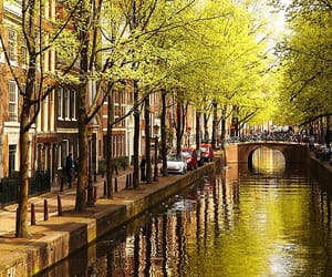amsterdam, canal, and netherlands image