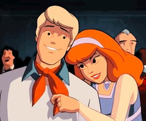 cartoon, classic, and couple image