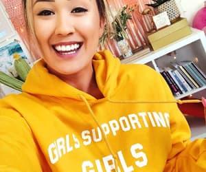 girl, hoodie, and hoodies image