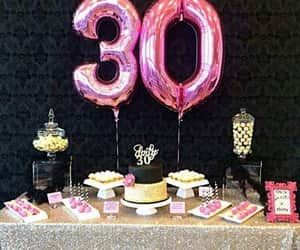 party, birthday, and decorations image