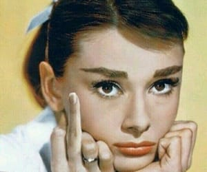 fuck, audrey hepburn, and yellow image
