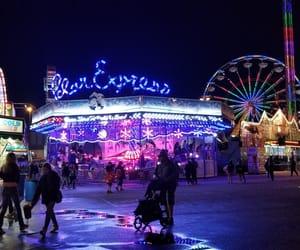 carnival, fair, and ferris wheel image