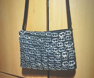 bag, handbag, and metal image