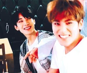 gif, kim mingyu, and wonwoo image