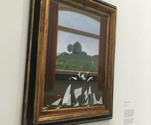 art, trees, and broken image