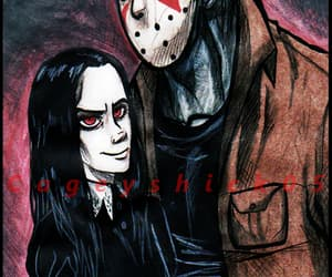 the addams family, jason vorrhees, and wednesday addams image