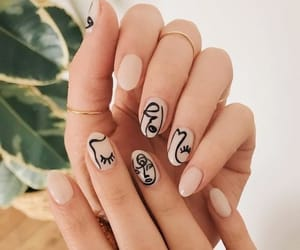 nails, art, and picasso image