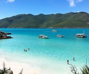 beach, travel, and wanderlust image