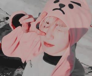pink, bts, and jungkook bts image