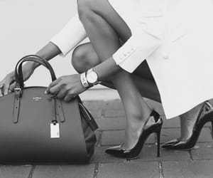 bw, fashion, and shoes image