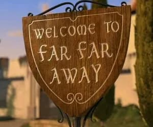 far far away, shrek, and away image