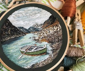 boat, diy, and embroidery image