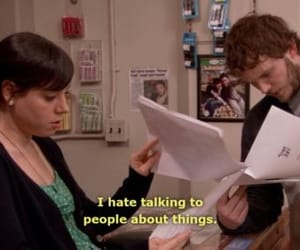 parks and recreation, april ludgate, and quotes image