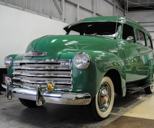 1949, chevy, and classic cars image