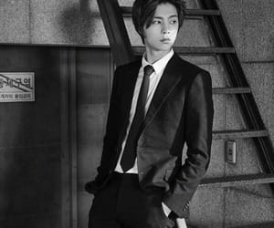 b&w, johnny suh, and johnny image
