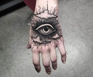 tattoo and eye image