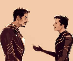 Avengers, fan art, and iron man image