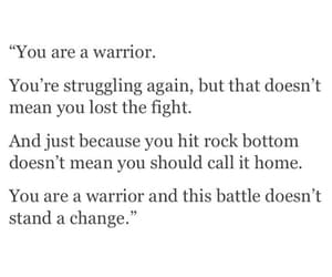 quotes and warrior image