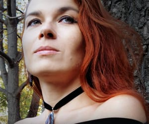 choker, dress, and etsy image