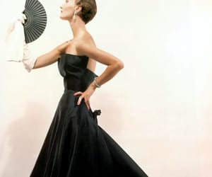 1940s fashion, Christian Dior, and vintage fashion image