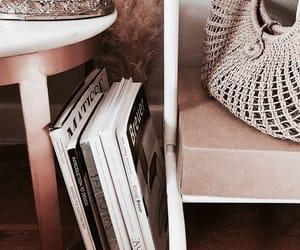 books, magazine, and style image