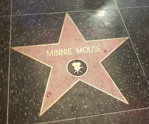 hollywood, los angeles, and minnie mouse image