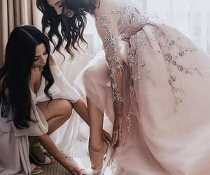 beautiful, shoes, and maid of honor image
