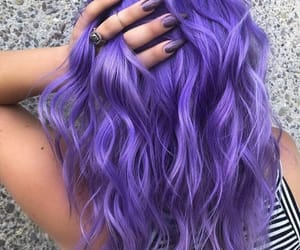 nails, popular, and purple image