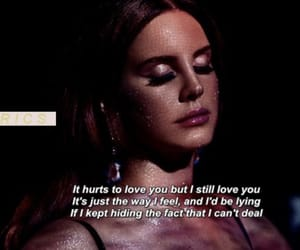 lana del rey, music, and love image