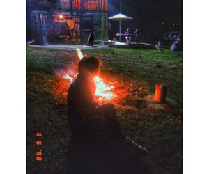 bonfire, enjoylife, and girl image