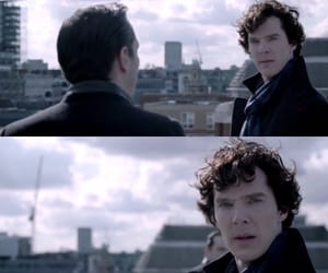 sherlock, jim moriarty, and the reichenbach fall image