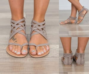 cheap sandals, womens sandals, and cross straps sandals image