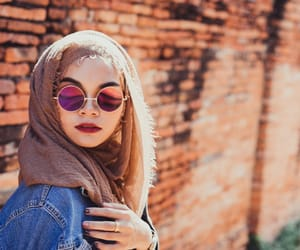 beautiful, muslim, and fashion image