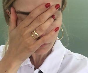 girl, model, and nails image