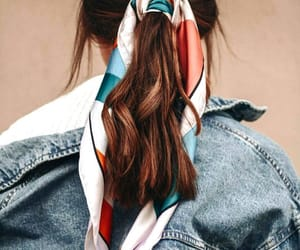 colors, denim, and girl image