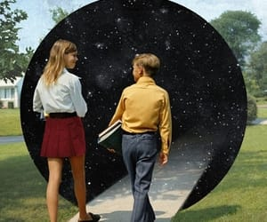 siblings, space, and love image
