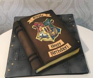 birthday cake, book, and cake image