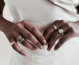 rings, accessories, and white image