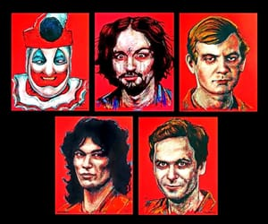 killer, john wayne gacy, and serial killers image