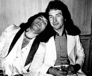 Queen, Freddie Mercury, and john deacon image
