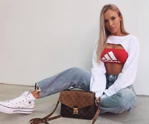 adidas, fashion, and converse image