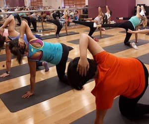 fitness, workout, and pilates image