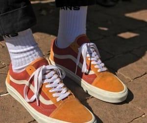 orange, vans, and carefree image